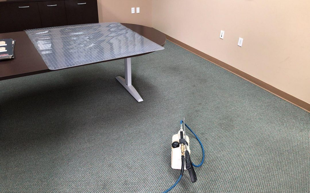 Phoenix, AZ Commercial Carpet Cleaning Before/After